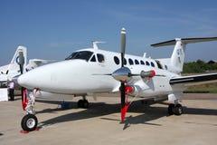 passagerare för konung för luftflygplanbeechcraft Arkivbilder