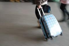 Passagerare som i all hast gås Royaltyfri Fotografi