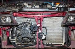 Passagerarebil med räkningen av elementet arkivbilder