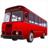 Passagerarebuss Arkivbild