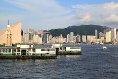 Passagerareeyeliner, Hong Kong Royaltyfri Bild