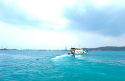 Passagerarefartyg Royaltyfria Foton