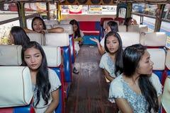 Passagerareklon Royaltyfria Foton