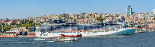 Passagerareport Piraeus, Aten Arkivfoton