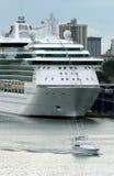 passagerareship Royaltyfri Foto