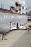 passagerareship för c columbus Fotografering för Bildbyråer