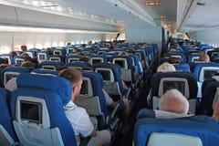 Passageraretrafikflygplan Arkivfoto