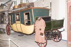 Passagerarevagn; 19th århundrade Royaltyfri Fotografi