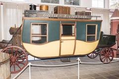 Passagerarevagn; 19th århundrade in Arkivfoto