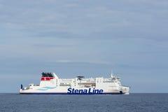 Passagerarfärja för ms SkÃ¥ne Royaltyfria Bilder