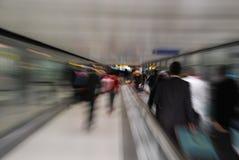 Passagers Image libre de droits