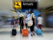 Passagers de compagnie aérienne Photographie stock