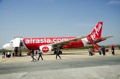 Passagers et personnes de voyageurs de Don Mueang International Airport Photographie stock