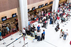 Passagers at Santos Dumont Airport in Rio de Janeiro, Brazil Stock Photography