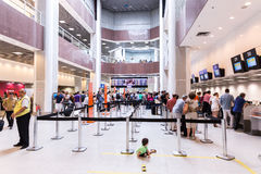 Passagers at Santos Dumont Airport in Rio de Janeiro, Brazil Royalty Free Stock Photography