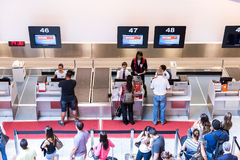 Passagers at Santos Dumont Airport in Rio de Janeiro, Brazil Royalty Free Stock Image