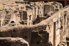 Passages of Coliseum in Rome Royalty Free Stock Photo
