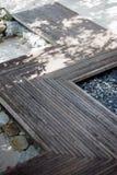 Passages couverts en bois Photo libre de droits