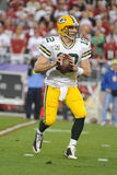 Passages d'Aaron Rodgers pour quatre touchdowns Photos stock