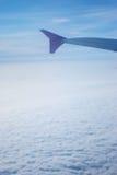 Passages d'avion par le regain Photos libres de droits