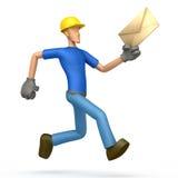 Passages de constructeur avec une lettre Images libres de droits