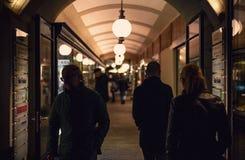 Passages et couloirs à Graz Images stock