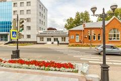 passageway Зернокомбайн Beloretsk металлургический Bashkortostan стоковое изображение