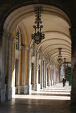 Passageway. In Lisbon, Portugal Stock Image