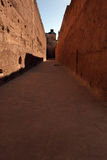 Passageway in an ancient building in Morocco Royalty Free Stock Image