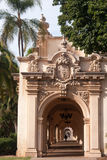 Passageway in Balboa Park Stock Images
