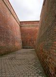 Fästningpassageway Royaltyfri Fotografi