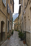 Passageway in Italy Stock Photography