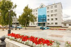 passageway Liga metalúrgica de Beloretsk Bashkortostan imagens de stock royalty free