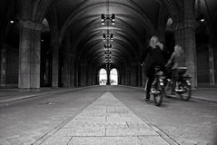 Passageway at Rijksmuseum Royalty Free Stock Image