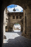 Passageway in Sighisoara Royalty Free Stock Photo
