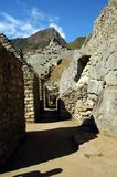 Passageways within Machu Picchu Royalty Free Stock Photography