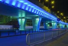 Passaggio blu in Craiova, Romania Immagini Stock