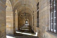 Passaggio chiuso in convento Immagini Stock Libere da Diritti