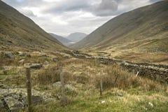 Passaggio Cumbria di Kirkstone Immagine Stock