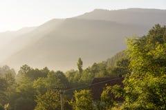 Passaggio del Balcani in Serbia Fotografie Stock Libere da Diritti