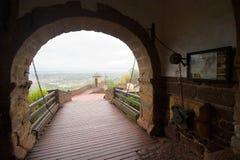 Passaggio del castello fotografie stock