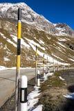 Passaggio del distretto di Albula in Svizzera Fotografia Stock Libera da Diritti