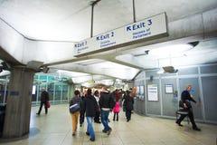 Passaggio del tubo di Londra Fotografie Stock Libere da Diritti
