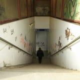 Passaggio della stazione Immagine Stock