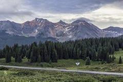 Passaggio della testa della lucertola, Colorado immagine stock libera da diritti