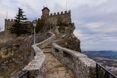 Passaggio delle streghe alla Repubblica di San Marino Immagini Stock Libere da Diritti