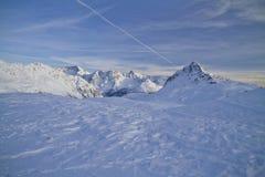 Passaggio di Bernina Fotografie Stock Libere da Diritti