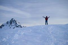 Passaggio di Bernina Immagine Stock