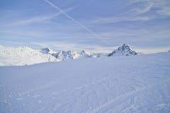 Passaggio di Bernina - Svizzera Immagini Stock Libere da Diritti