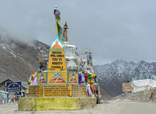 Passaggio di Changla in Ladakh, India Fotografia Stock Libera da Diritti